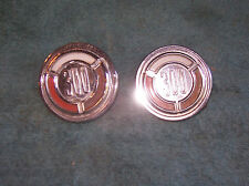 1966 CHRYSLER 300 2DR HT REAR PILLAR BADGES