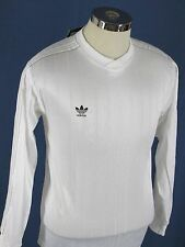 Vintage Adidas Liga Cup Soccer Jersey NOS , 90's Longsleeve USA White Trefoil SM