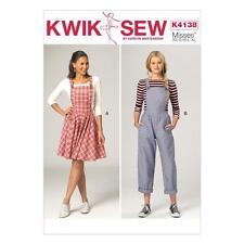 KWIK SEW SEWING PATTERN BY KERSTIN MARTENSSON MISSES JUMPER & JUMPSUIT K4138