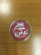 Coca Cola Honolulu Hawaii 75th Anniversary Poker Chip Round Bar Coin (not silver