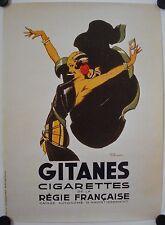 Affiche Cigarettes GITANES 1995 ilustr. René VINCENT