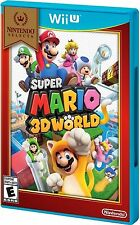 "SUPER MARIO 3D WORLD (Wii U) BRAND NEW"" Nintendo Selects"""