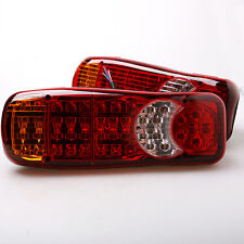 2pcs LED Truck Trailer Stop Tail Reverse Lights Indicator Fog light Universal