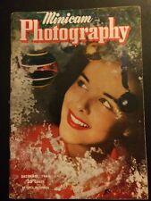 Vintage Minicam Photography Magazine December 1945