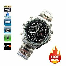 RELOJ ESPIA CAMARA OCULTA 8GB 1280x960 WATCH HIDDEN SPY CAMERA HD LCJ