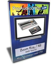 Zoom R24 / R8 DVD Video Tutorial Manual Help