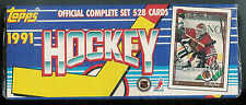 1991-92 TOPPS HOCKEY COMPLETE FACTORY SEALED SET 1-528