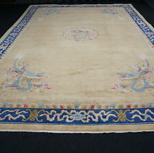TAPPETO Orientale Cinese 530 x 362 cm draghi cinesi ALT Old Dragon Carpet Rug