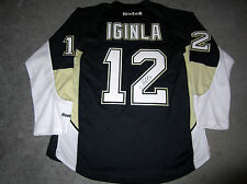 JAROME IGINLA Pittsburgh Penguins SIGNED Autographed JERSEY COA Flames Avalanche