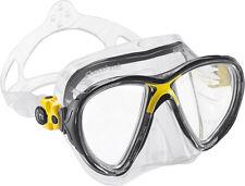 Big Eyes Evo gelb yellow Tauchmaske von Cressi Sub mit schmalem Rahmen