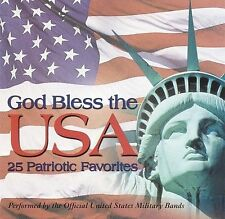 God Bless the U.S.A. - 25 Patriotic Favorites 2001 *NO CASE DISC ONLY*