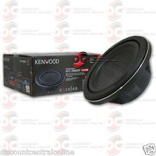 "KENWOOD KFC-XW800F 8"" SINGLE 4-OHM SHALLOW MOUNT CAR AUDIO SUBWOOFER 150W RMS"