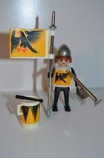 8494 playmobil ridder zwarte adelaar met trom 3332 single klicky