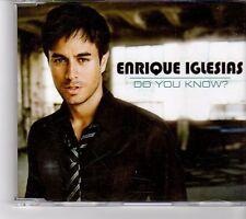 (FM447) Enrique Iglesias, Do You Know? - 2007 DJ CD
