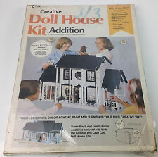 Vintage Creative Doll House Kit Addition Family Room Addition