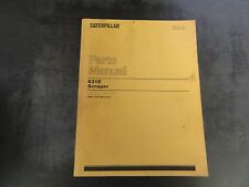 Caterpillar CAT 631E Scraper Parts Manual  1BB1-1539  SEBP1534-05