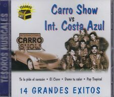 Carro Show Vs Costa Azul Tesoros Musicales CD New Nuevo Sealed