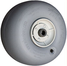 "Wheeleez 30cm (11.8"") Grey Wheels with 1"" bearing - soft pneumatic tire for sand"