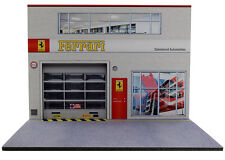 Diorama présentoir Ferrari - Damrémont Automobiles - 1/24ème - #MR24S011