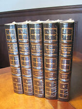 Easton Press ANNE RICE: THE VAMPIRE CHRONICLES 5 vol SIGNED & SEALED