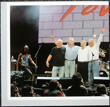 PINK FLOYD POSTER PAGE 2005 LIVE 8 HYDE PARK LONDON WITH ROGER WATERS . H2