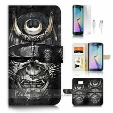 Samsung Galaxy ( S7 Edge ) Flip Wallet Case Cover P2377 Japan Samurai