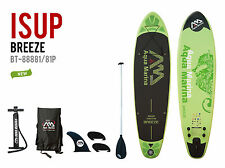 Aqua Marina Breeze 10 Foot Inflatable Stand Up Paddle Board SUP-515840