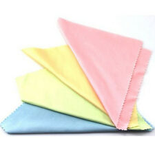10pcs Phone Screen Microfiber Cloth Camera Lens Glasses Square Cleaning Cloth EY