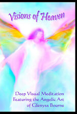 "Visual Meditation DVD ""Visions of Heaven"" featuring Angel Art by Glenyss Bourne"