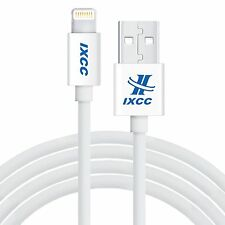 [APPLE MFi Certified]iXCC 10ft iPhone 7, 7Plus Lightning Charger Cable -White