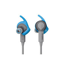 Jabra Blue Sport Coach Wireless Earbuds SPECIAL EDITION Blue and Gray / $99.95