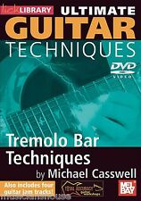 LICK LIBRARY ULTIMATE GUITAR TECHNIQUES TREMELO BAR Learn to Play Vibrato DVD