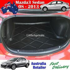 Mazda3 Sedan Cargo Liner Boot Mat Trunk Protector 2008 - 2013 Model
