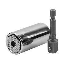 7-19mm Gator Grip Universal Socket Wrench Power Drill Adapter 2 Piece SBY