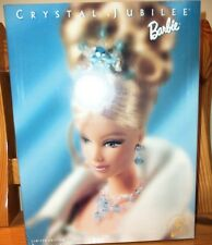 Barbie 40th Anniversary Crystal Jubilee Barbie Doll with Shipper 1999 NRFB NEW