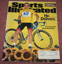 SPORTS ILLUSTRATED - 08/06/01 - LANCE ARMSTRONG WINS 3RD STRAIGHT TOUR DE FRANCE