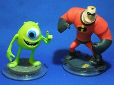 Disney Infinity Figures Pixar Characters for Game Mr. Incredible & Mike Wazowski