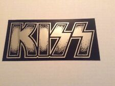 KISS logo Sticker Mirror chrome Gene simmons Ace frehley Paul stanley KISS ARMY