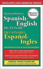 Merriam-Webster's Spanish-English Dictionary (1998, Paperback)