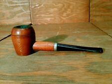 Vintage Unbranded Large Smooth Wooden Bowl Poker Style Tobacco Pipe LOOK NICE