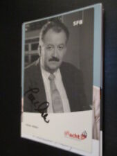 60385 Dieter participa TV música de la película original con firma de autógrafos mapa