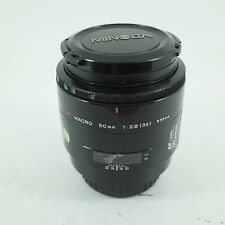 SONY Alpha FIT macro MINOLTA AF 50mm F2.8 primo LENS full frame Japan