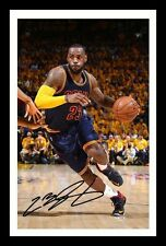 LEBRON JAMES - CLEVELAND CAVALIERS AUTOGRAPHED SIGNED & FRAMED PP POSTER PHOTO