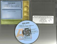 TORI AMOS Silent all these years w/ RARE PSA PROMO DJ CD Single PRCD8150 STICKER