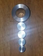 "COIN RING DIE SET FOR SWEDISH WRAP ( SW ) METHOD .8"" EXTRUSION DIE COMPLETE SET"