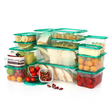 17Pcs/Set Food Storage Box Food Fresh Refrigerator Boxes Case Kitchen Container