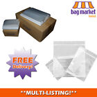 Strong Clear Grip Seal Bags | Zip Lock/Resealable/Poly/Plastic/Plain/Storage