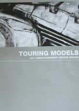 2011 Harley Davidson TOURING Service Shop Manual Set W EWD OWNERS + PARTS BOOK