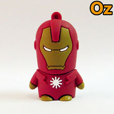 Iron Man USB Stick, 16GB Quality Chip 3D USB Flash Drives WeirdLand