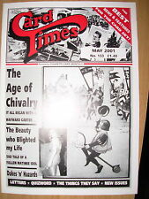CARD TIMES MAGAZINE FORMERLY CIGARETTE CARD MONTHLY No 133 MAY 2001